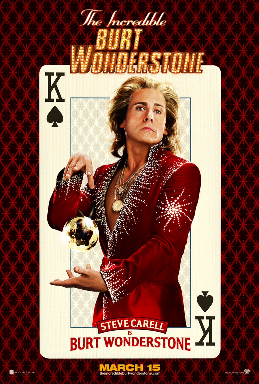 The Incredible Burt Wonderstone - Poster - 001
