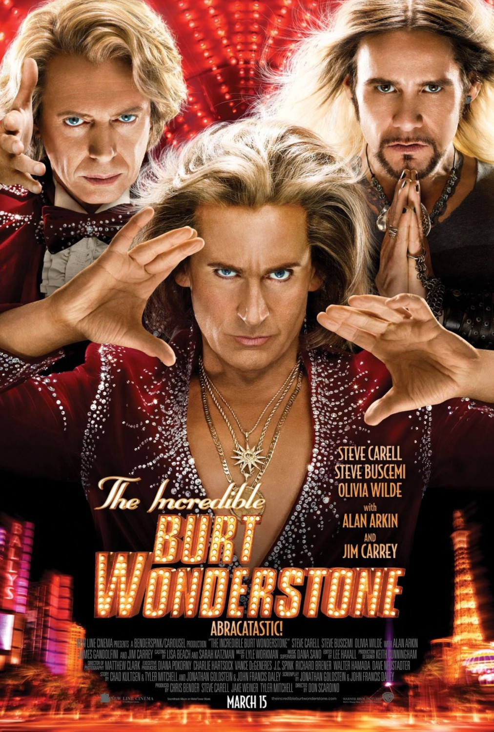 The Incredible Burt Wonderstone - Poster - 005
