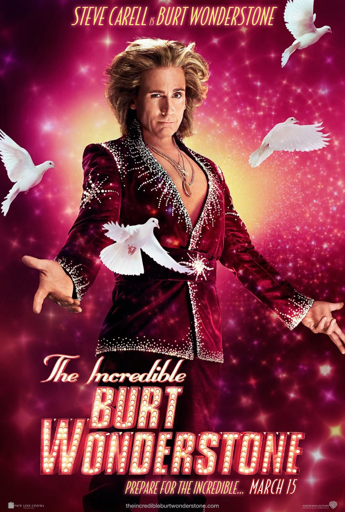 The Incredible Burt Wonderstone - Poster - 006