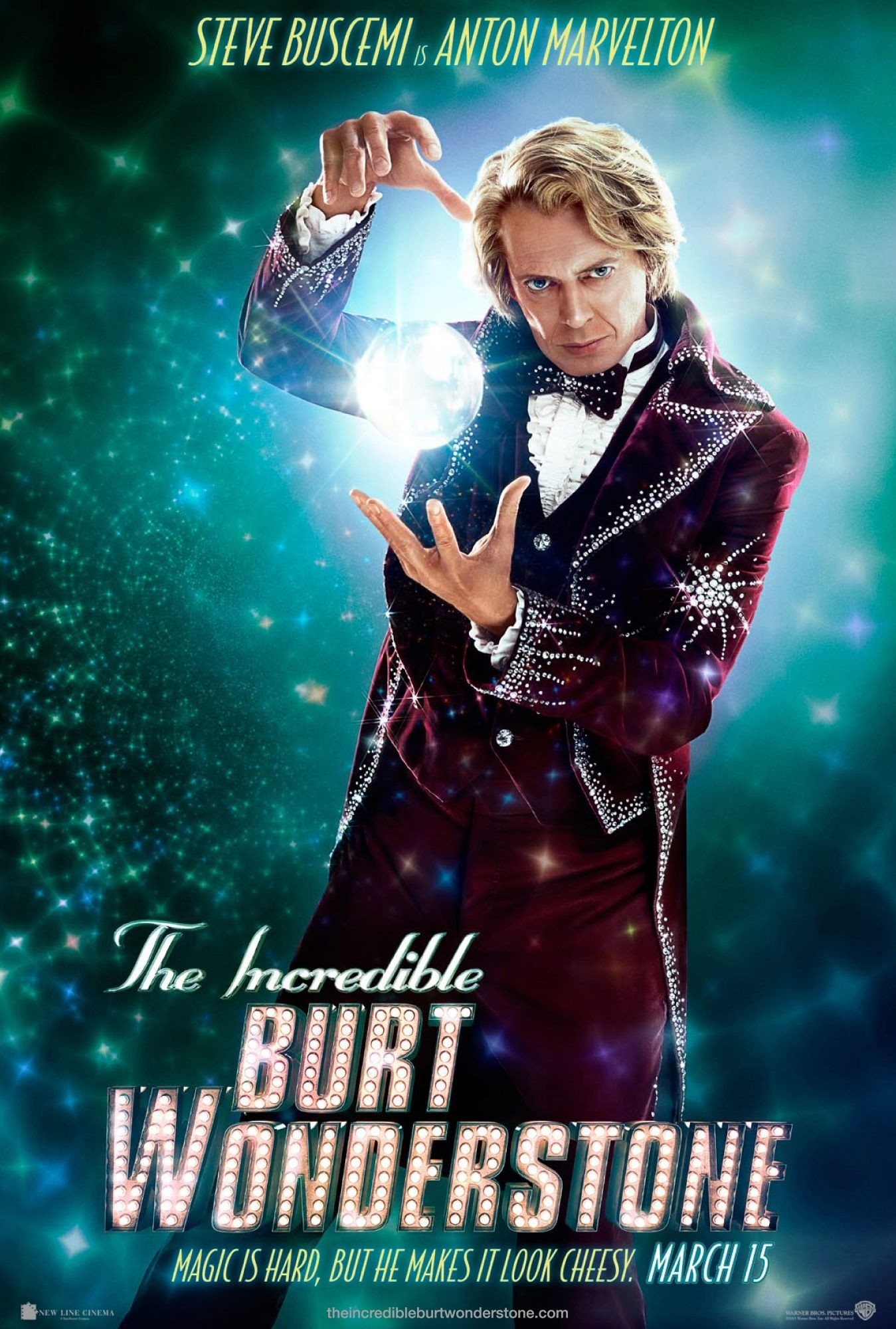 The Incredible Burt Wonderstone - Poster - 007