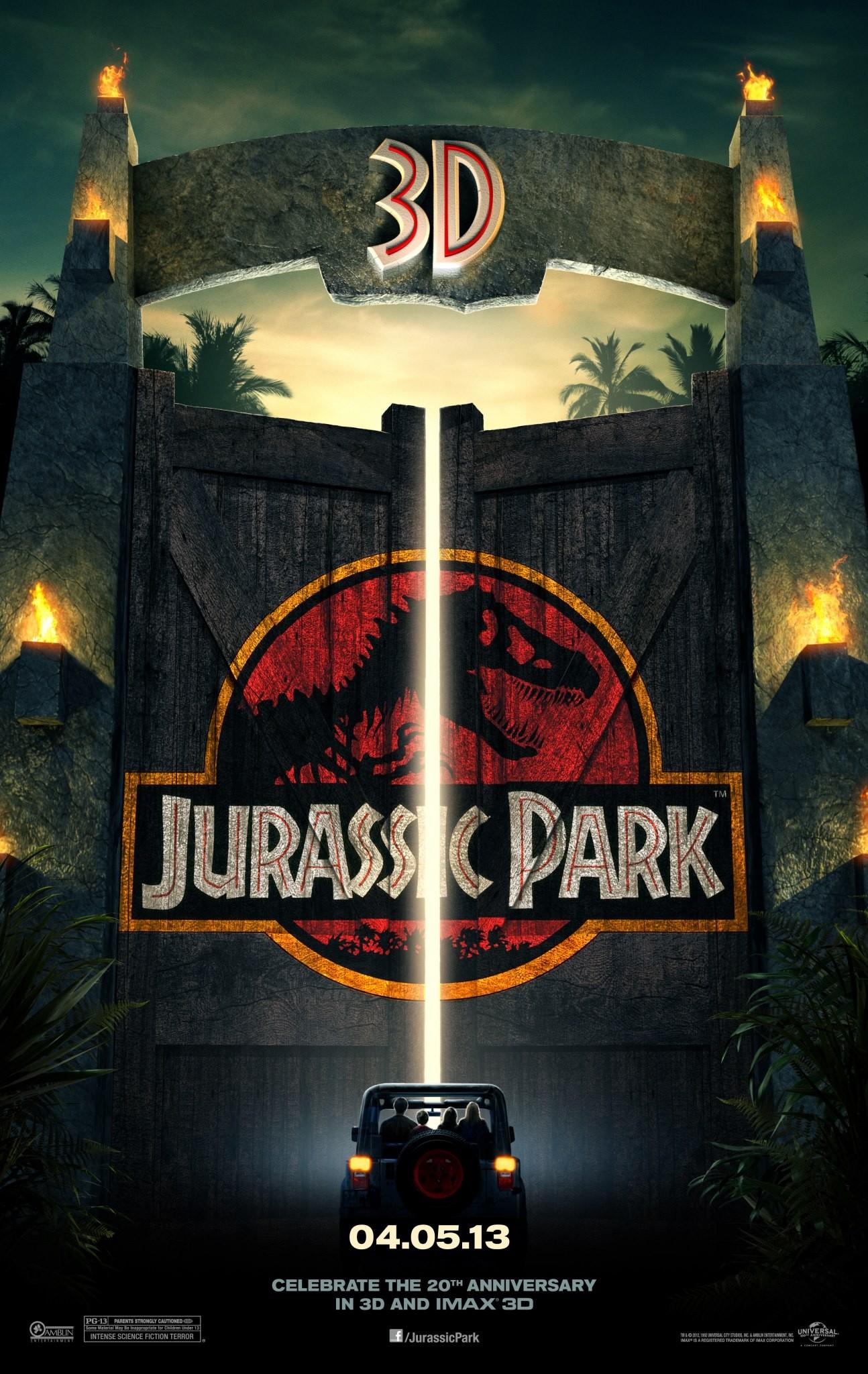 Jurassic Park 3D - Poster - 001