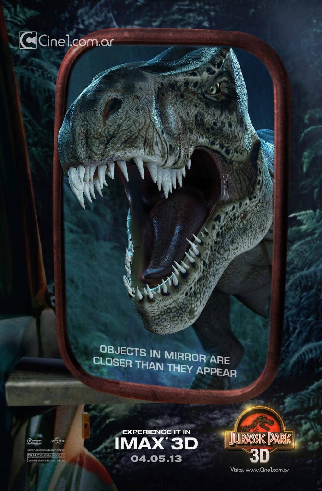Jurassic Park 3D - Poster - 002