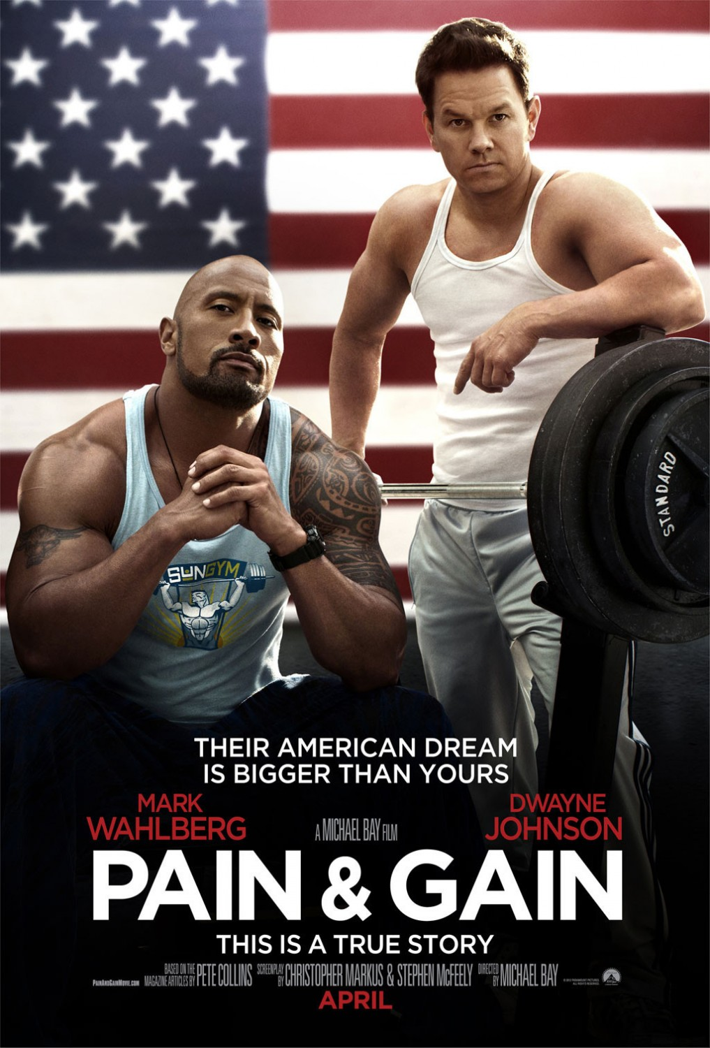 Pain and Gain - Poster - 002