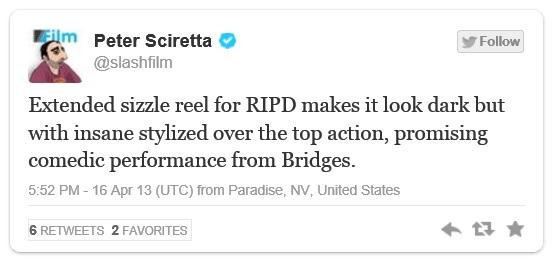 RIPD - Slash Film Tweet
