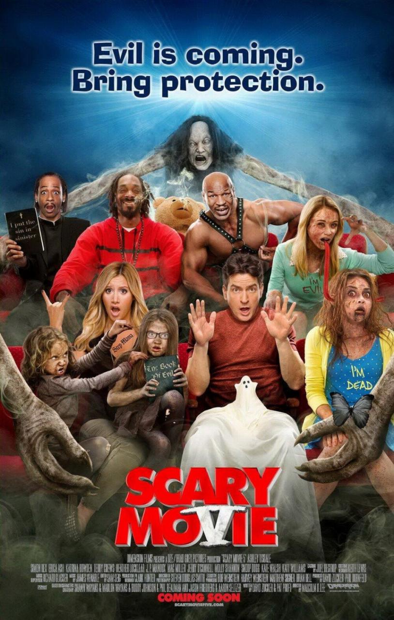 Scary Movie 5 - Poster - 001