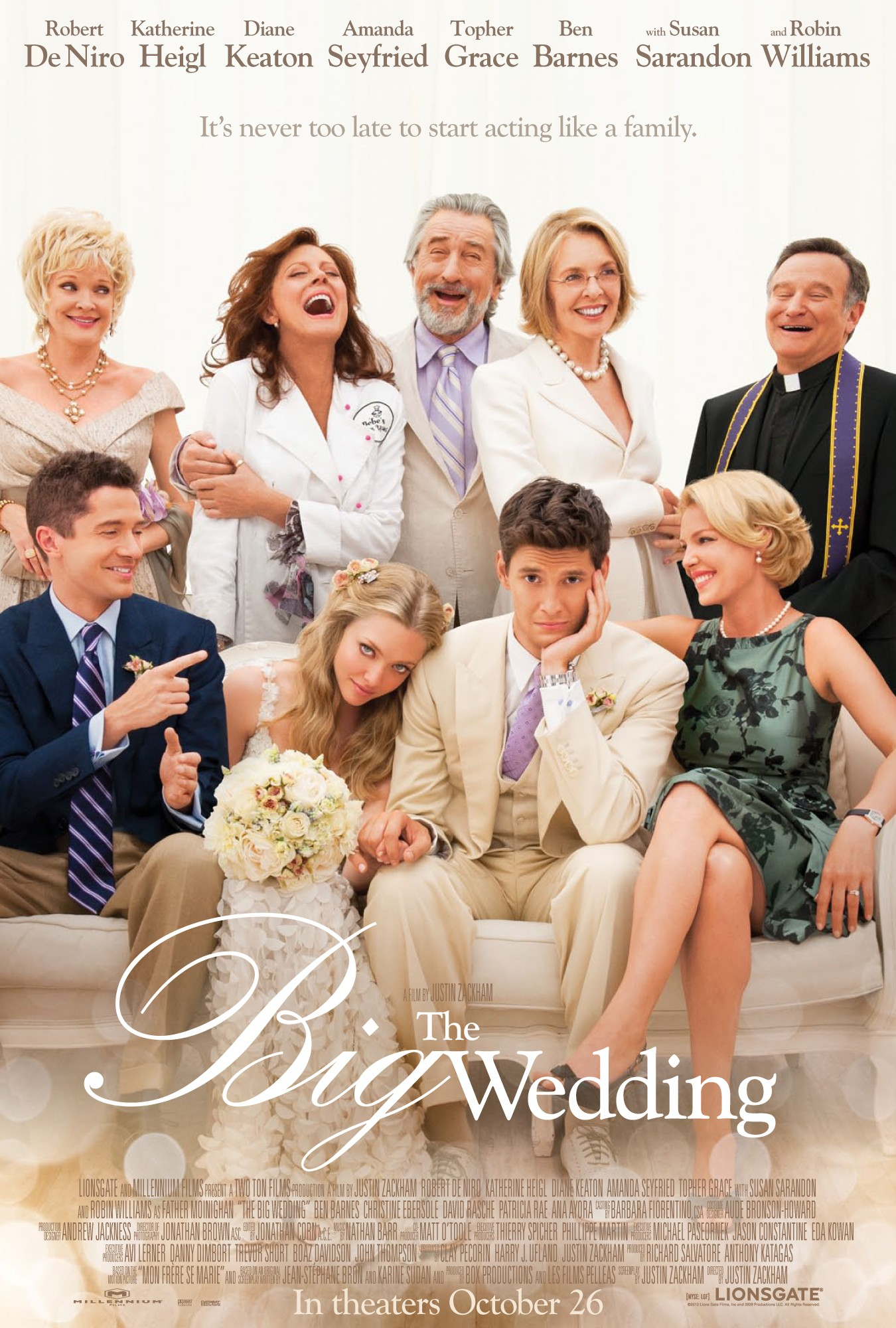 The Big Wedding - Poster - 001