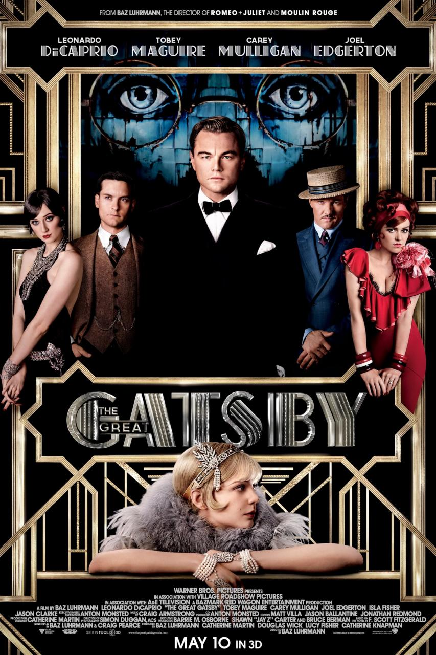 The Great Gatsby - New Trailer Poster