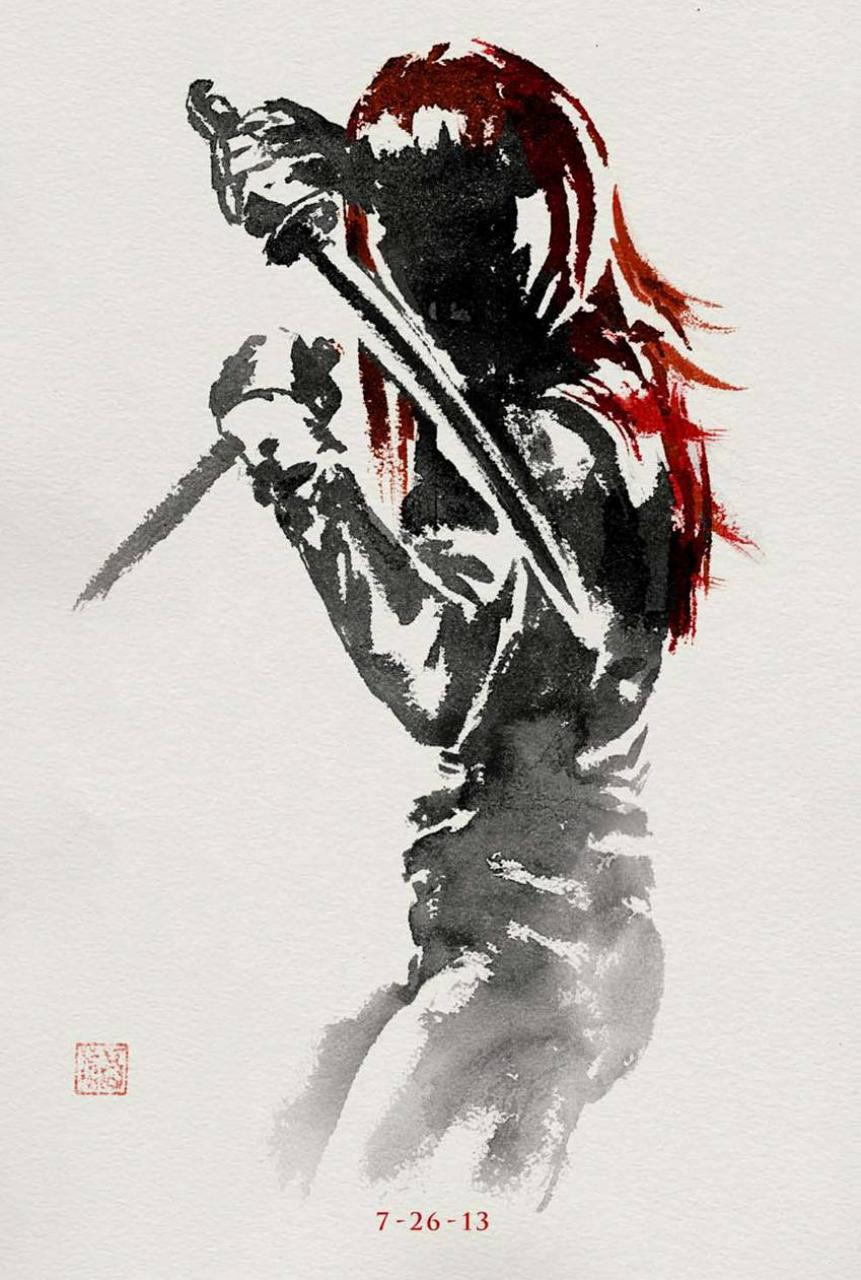 The Wolverine Japanese Art 4