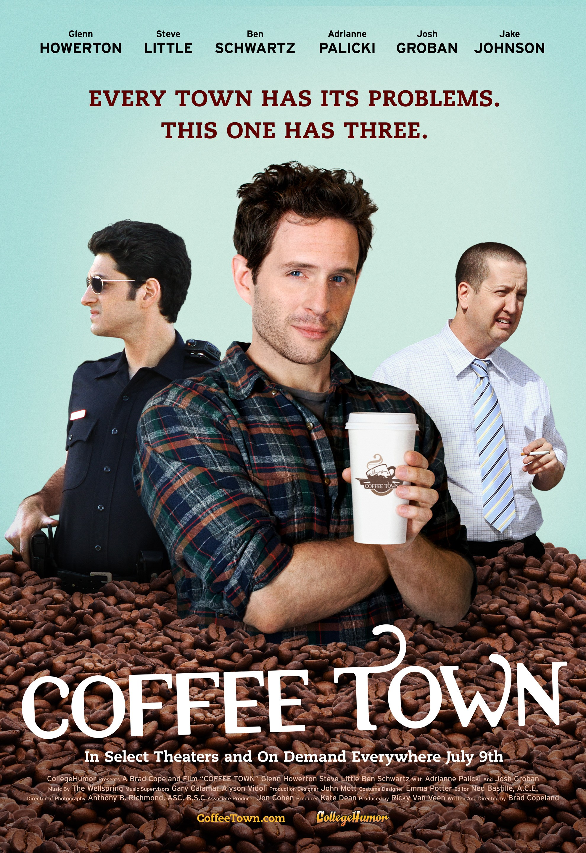 Coffee Town - Poster - 001