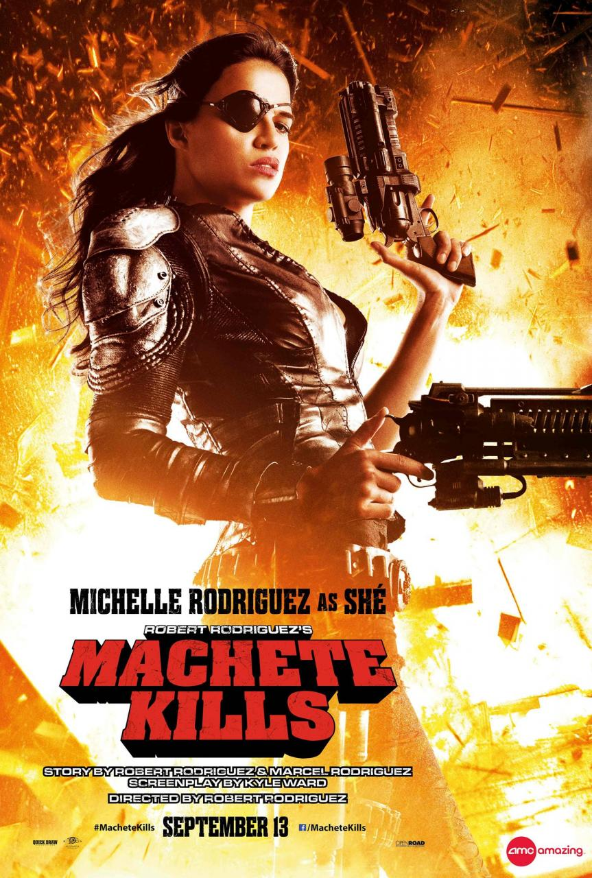 Machete Kills - Poster - 004