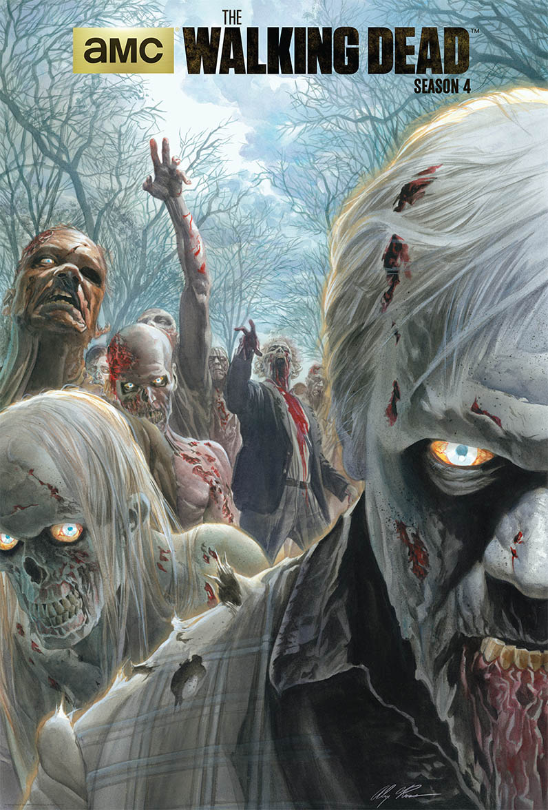 AMC - Walking Dead Season 4 - Alex Ross