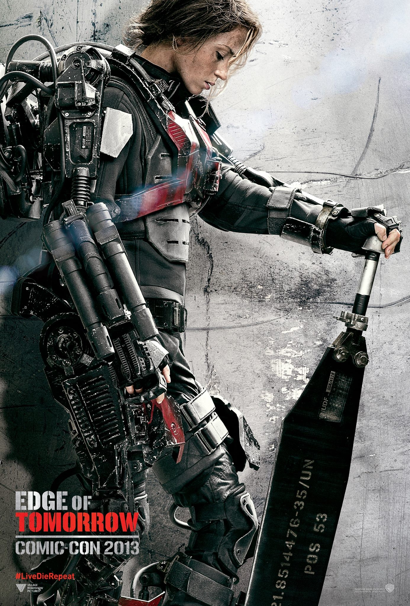 Edge of Tomorrow - Poster - 002