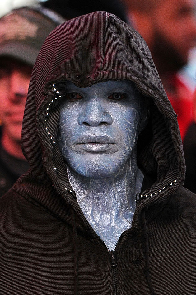First Official Look at Electro in THE AMAZING SPIDER-MAN 2 ...