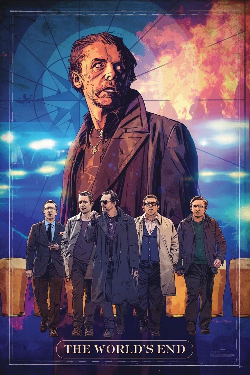 The World's End - Poster - 011 (Comic-Con)
