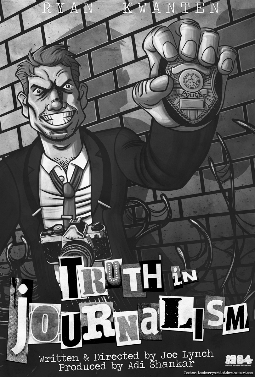 Truth In Journalism - Poster - 001