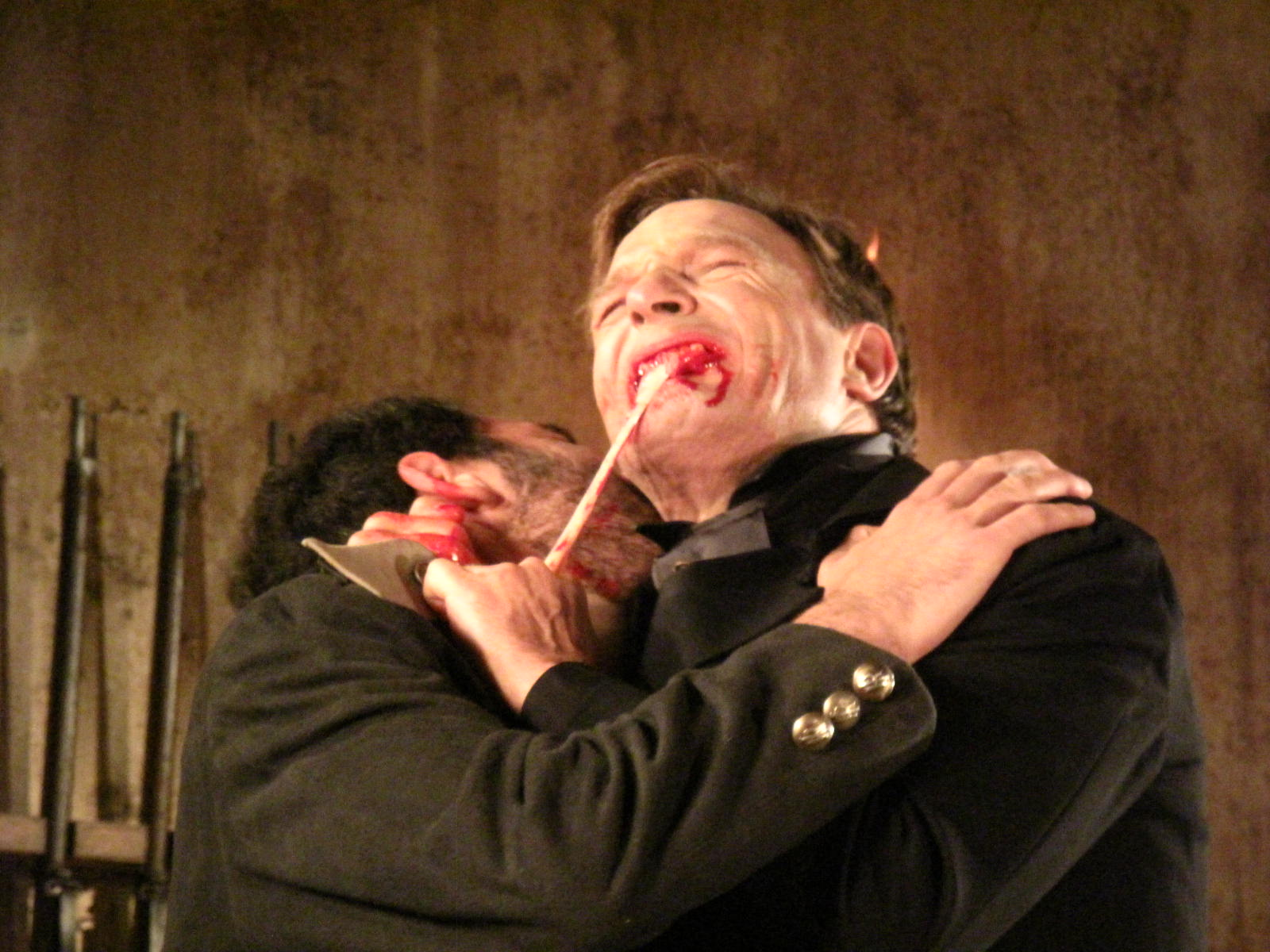 9.THOMAS  KRETSCHMANN TAKES A BITE AS THE UNDEAD COUNT IN ARGENTO'S DRACULA 3D
