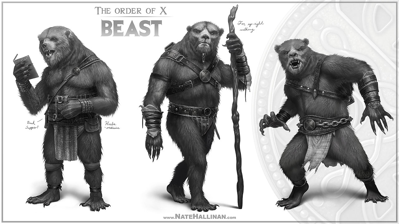 The Order of X - Beast (Working Design