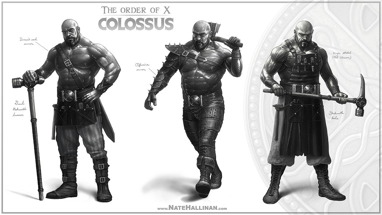 The Order of X - Colossus (Working Design)