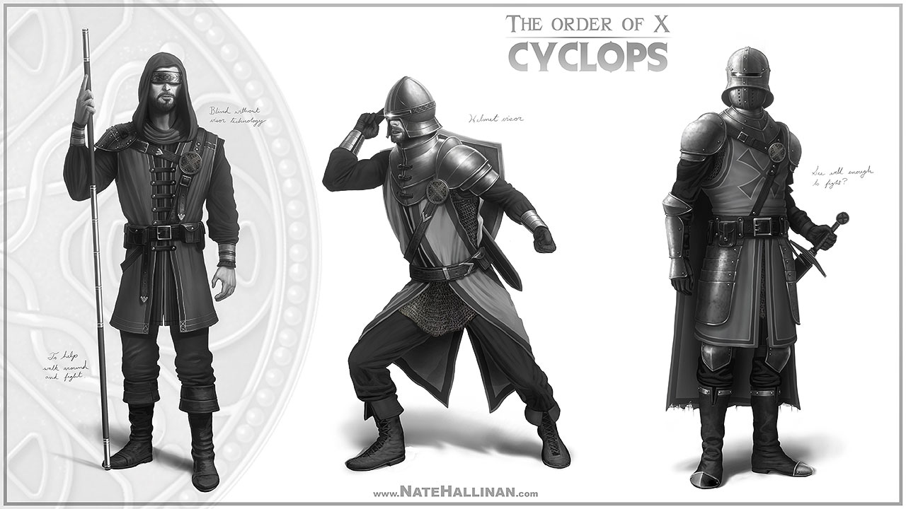 The Order of X - Cyclops (Working Design)