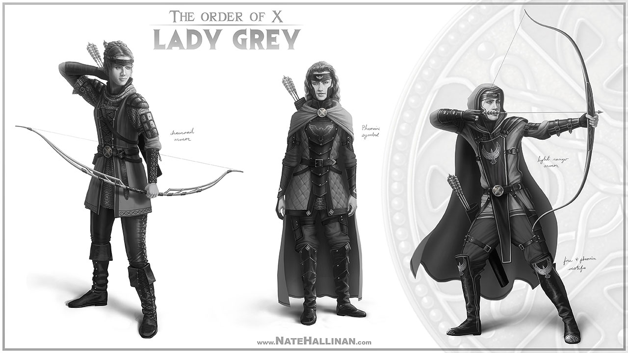 The Order of X - Lady Grey (Working Design)