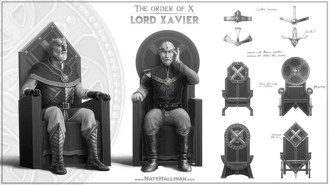 The Order of X - Lord Xavier (Working Design)