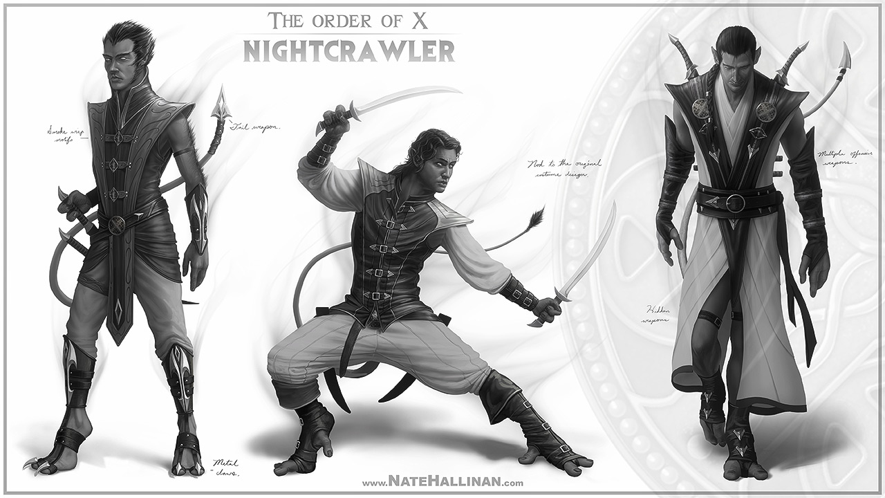 The Order of X - Nighcrawler (Working Design)