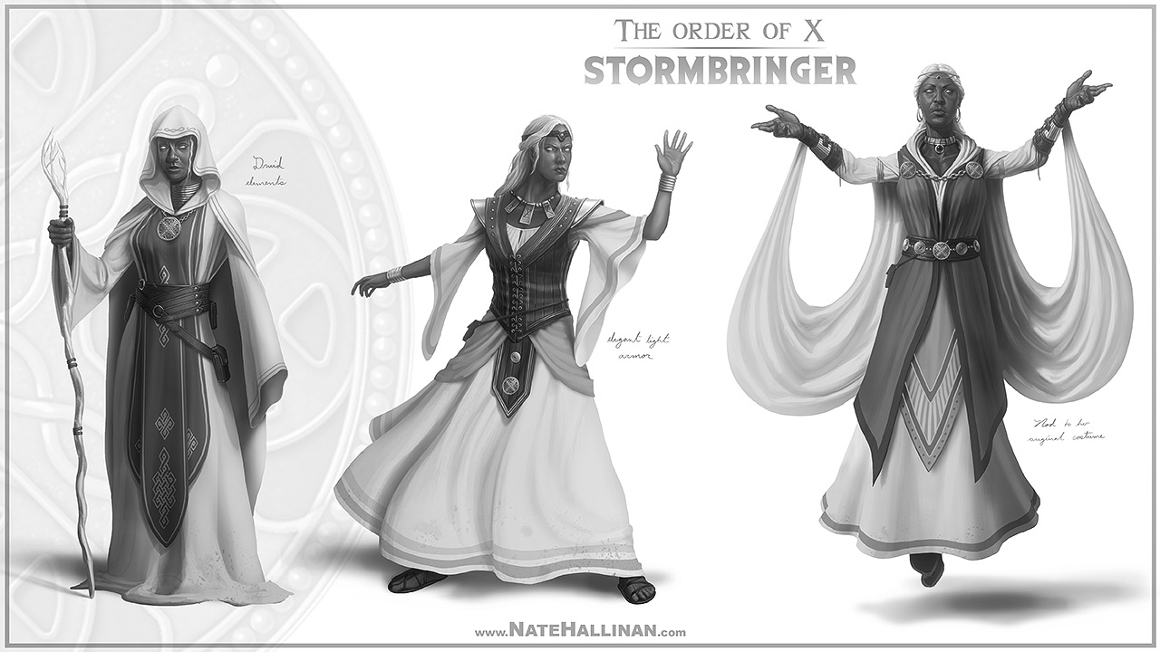 The Order of X - Stormbringer (Working Design)