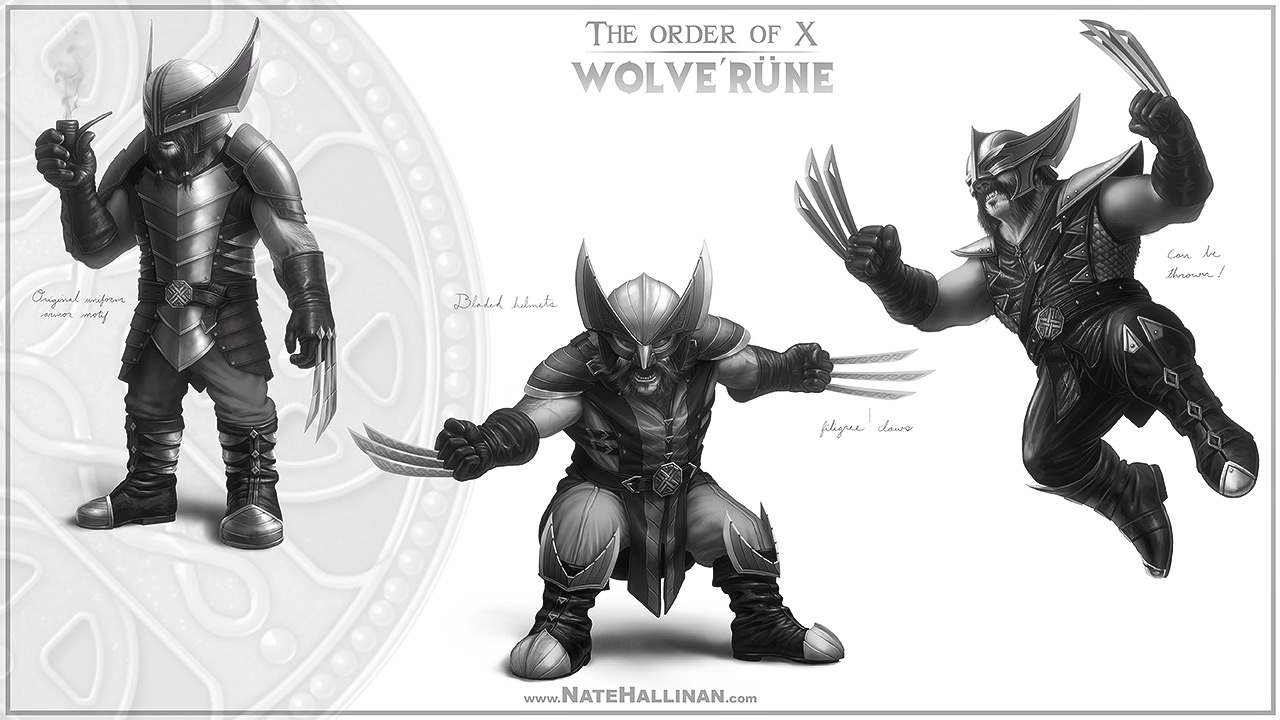 The Order of X - Wolverune (Helmet)