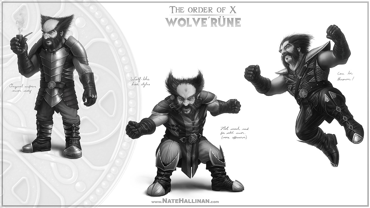 The Order of X - Wolverune (No Helmet)
