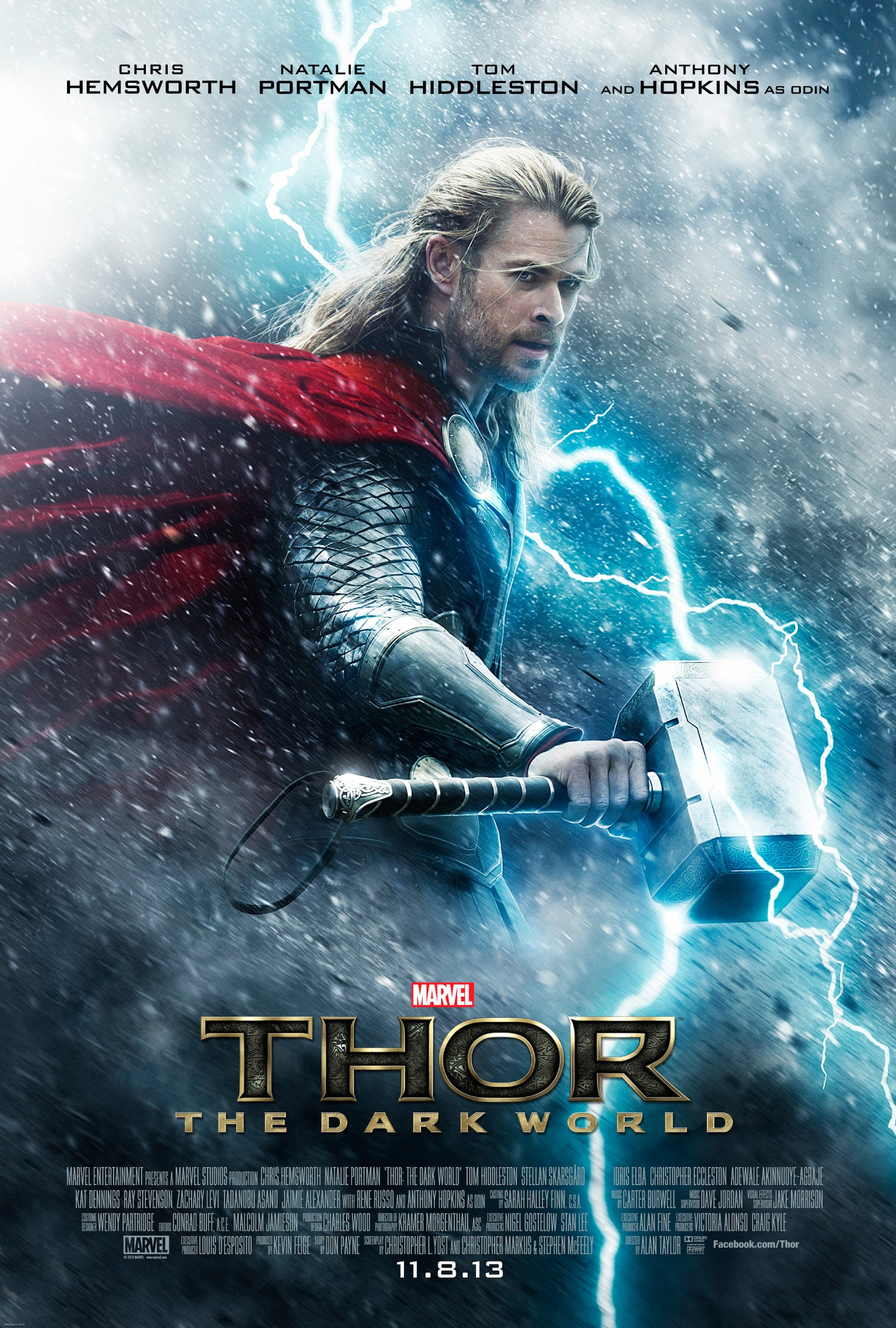 Thor The Dark World - Poster - 001