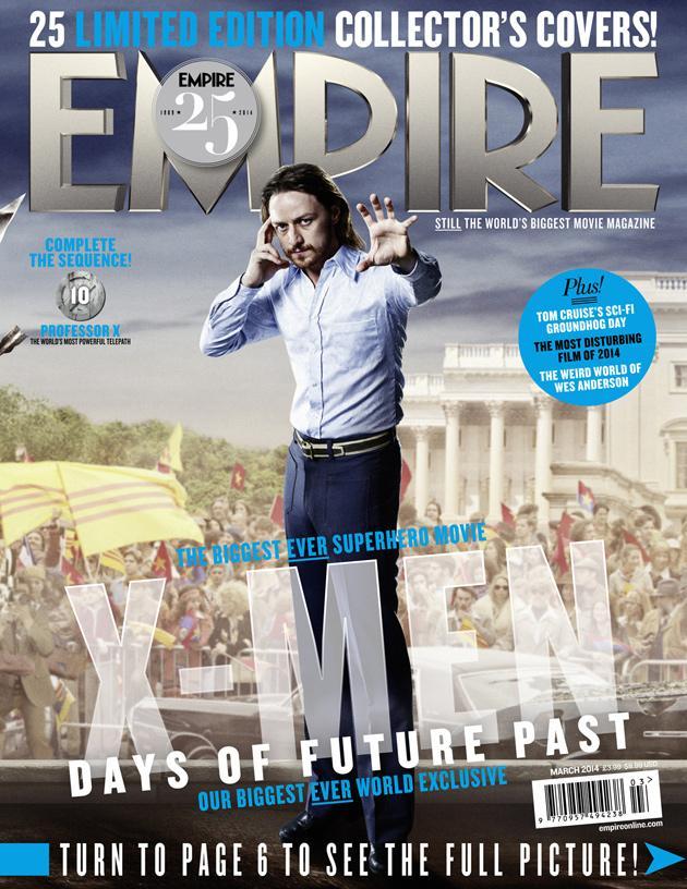 Empire - XDOFP Cover - 010 - Professor X (Past)