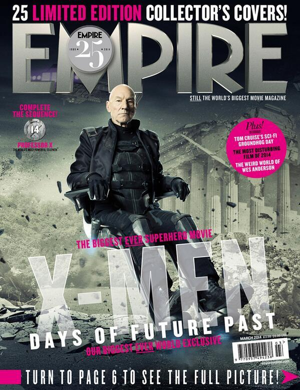 Empire - XDOFP Cover - 014 - Professor X (Future)