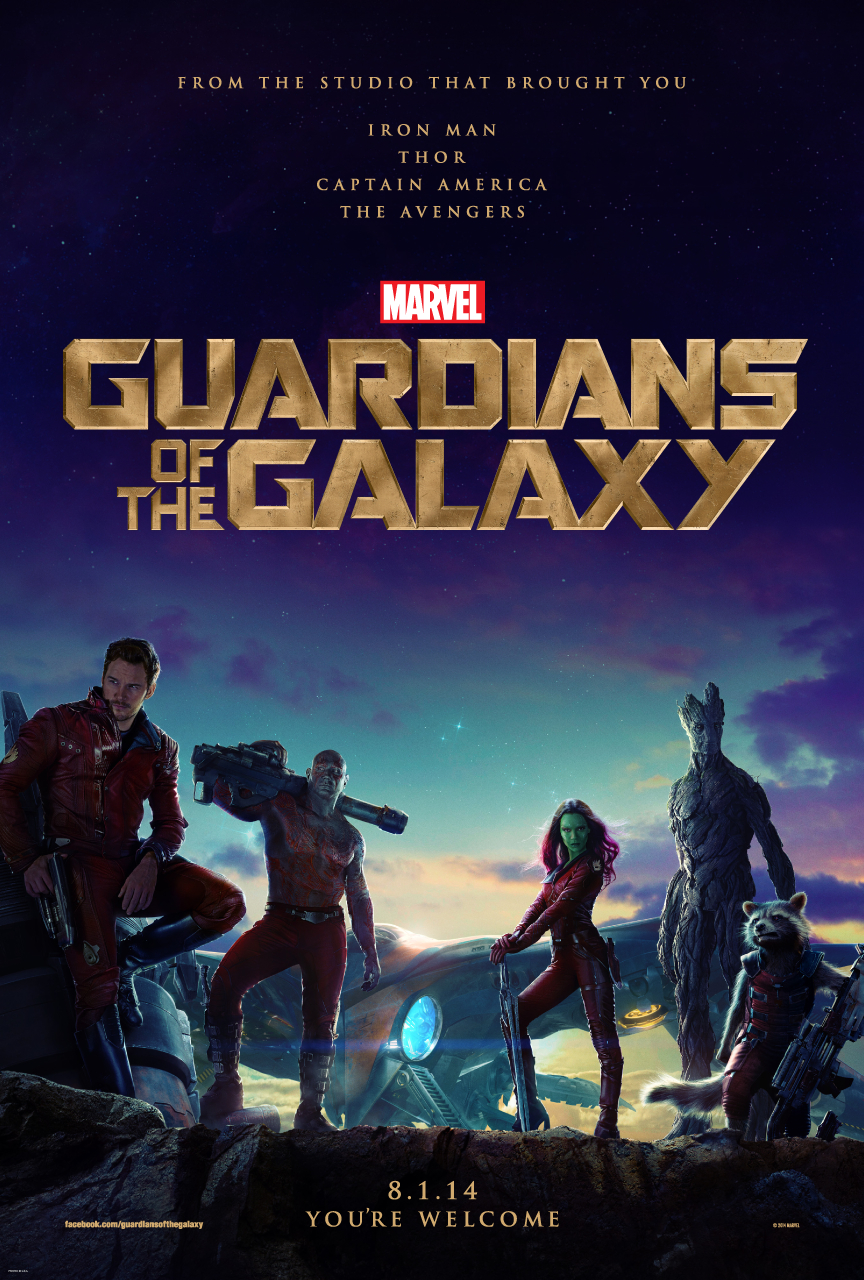 Guardians of the Galaxy - Poster - 001