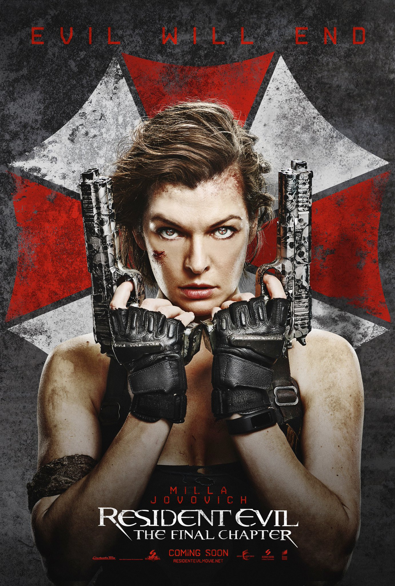 RESIDENT EVIL: THE FINAL CHAPTER teaser trailer & posters ...