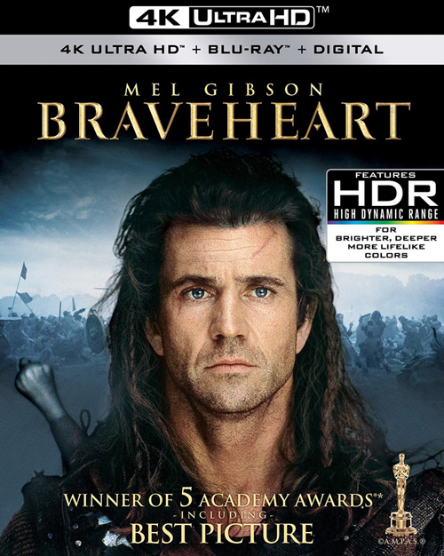 enter to win mel gibson s braveheart on 4k blu ray for the first