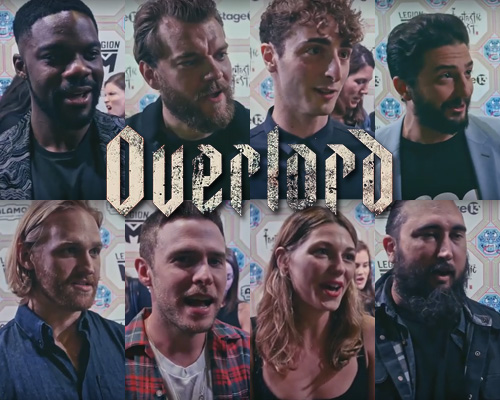OVERLORD interviews with cast & crew from Fantastic Fest 2018